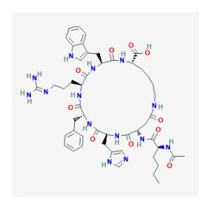 PT-141 Molecular Structure