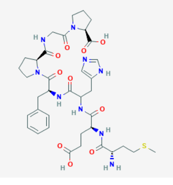 Image of Semax without the N-acetyl side chain