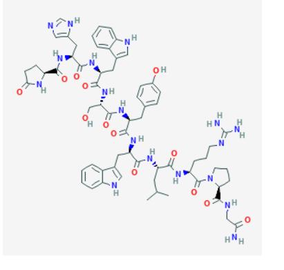 Triptorelin Structure